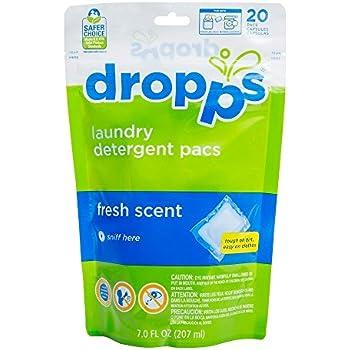 Amazon Com Dropps He Laundry Detergent Pacs Fresh Scent