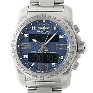 Breitling Cockpit analog-quartz mens Watch EB501019/C904/176E (Certified Pre-owned)