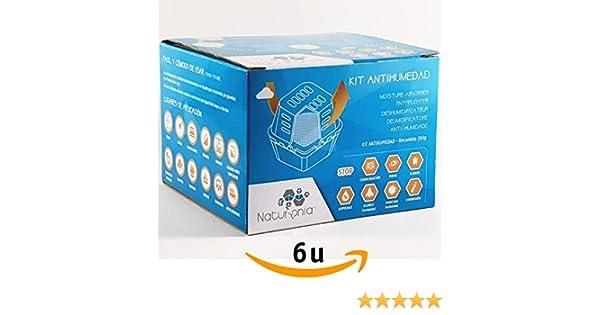 Naturonia Dispositivo Antihumedad Bolsa 250gr Classic para Armarios Habitación Ropa Evita Olor Humedades Antimoho: Amazon.es: Hogar