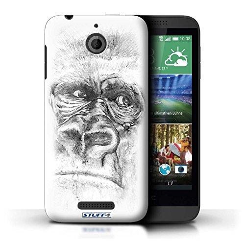 Coque de Stuff4 / Coque pour HTC Desire 510 / Gorille / Singe Design / Dessin Croquis Collection