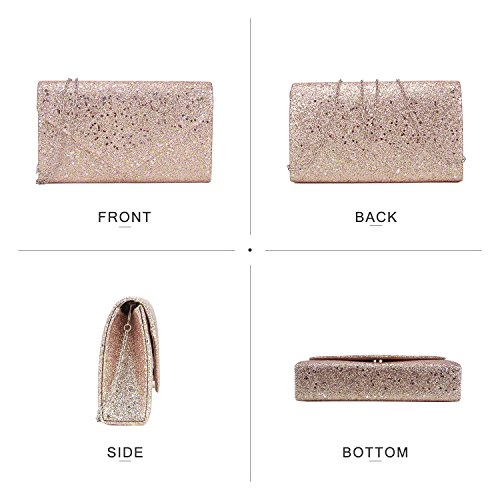 Silver Clutches Women White Prom Glistening Hardware Purses Clutch Bags Clutches Wedding Formal Party Cocktail Evening rOYSqwx7O