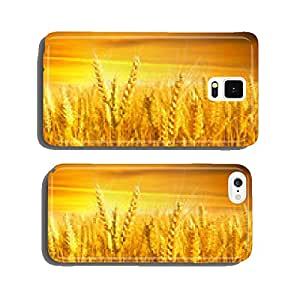 wheat field at the sunset cell phone cover case Samsung S6