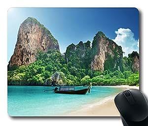 Beach 47 Mouse Pad Desktop Laptop Mousepads Comfortable Office Mouse Pad Mat Cute Gaming Mouse Pad