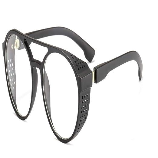 Yangjing-hl Estilo Europeo y Americano Tendencia Retro Gafas ...