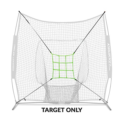 Mound Pitching (Rukket Baseball/Softball Adjustable Pitching Target | Practice Throwing (Adjustable Strike Zone Target Only) Frame and Net Sold Separately.)