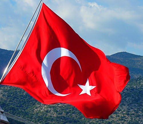 XXL Turco de tamaño gigante - bandera de la bandera Bayrak Türk de ...