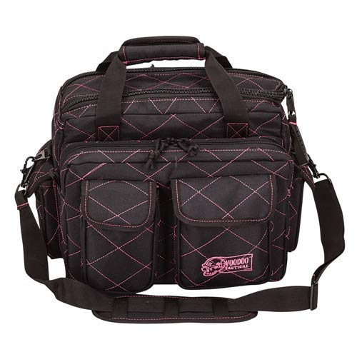 Standard Scorpion Range Bag - Lady Voodoo Custom Series, Black/Pink by VooDoo Tactical