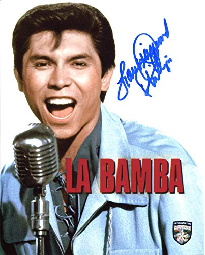- Lou Diamond Phillips Signed/Autographed La Bamba 8x10 Glossy Photo as Ritchie Valens. Includes Official Pix Certification and Cataloged Number with COA. Entertainment Autograph Original. Luis Valdez
