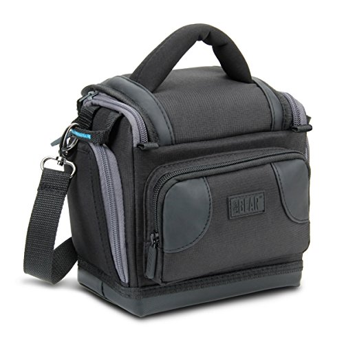 Deluxe Digital SLR Camera Case Bag With Padded Interior Lini
