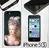 iphone 5 case custom made - Vintage Marie Antoinette Custom made Case/Cover/skin FOR iPhone 5/5s -Black - Rubber Case ( Ship From CA)