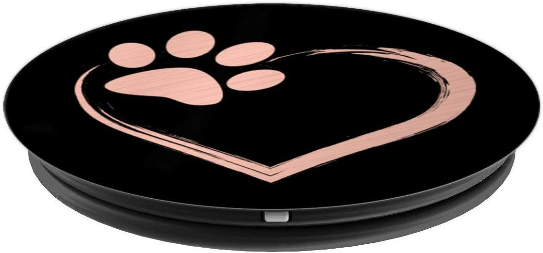 Paw Print Pet Series PopSockets Grip and Stand for Phones and Tablets Dog