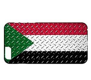 Funda Carcasa para iPhone 6 Plus & 6S Plus Bandera SUDÁN 05
