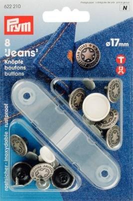 Prym Knöpfe für Jeans