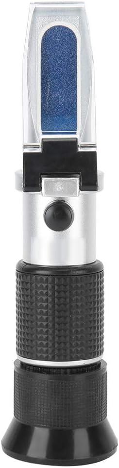Brix Refractometer, Handheld Sugar Tester, Sugar Concentration Meter Sugar Densitometer Content Measurement for Food Fruit Beverages Honey 0‑50%