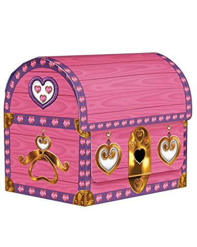 Princess Treasure Chest Treat Boxes by Beistle