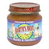 Earth's Best Organic Stage 2, Prunes & Oatmeal, 4 Ounce (Pack of 24)
