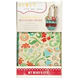 quilting books using panels - Mme Ruffle Bag Kit-Red
