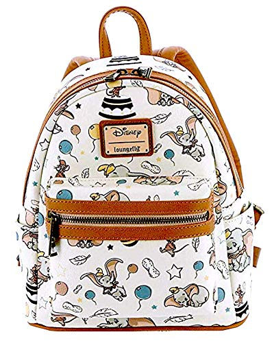 (Loungefly Disney's Dumbo Faux Leather Mini Backpack Standard)