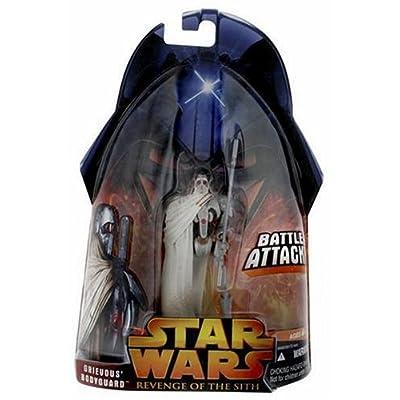 Hasbro Star Wars E3 Basic Figure Grievous Bodyguard: Toys & Games