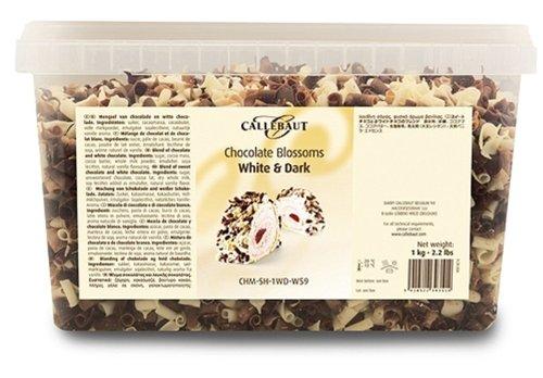 Callebaut Rizos de Chocolate Blanco y Negro (virutas mezcladas) 1kg: Amazon.es: Alimentación y bebidas