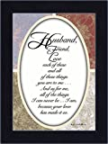 Best Poetry Gifts Gift For A Boyfriends - Reflections Husband, Gift from Wife to Husband, 7x9 Review
