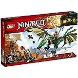 2016 LEGO Ninjago The Green NRG Dragon 70593
