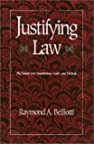 Justifying Law 9780877228189