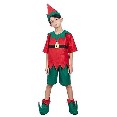 UNISEX HATS CHRISTMAS SANTA CLAUS HELPER ELF ADULT KIDS XMAS COSTUME ACCESSORIES