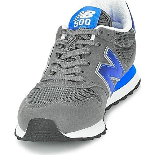 Balance Da Grigio Sneakers grau Uomo blue Gm500 grey New vqwFxgg