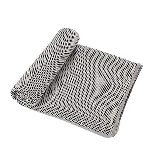 (CICN Cooling Towel Quick-Drying Towel Two-Tone Cold Towel (1, Light)