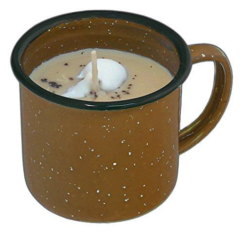 (Swan Creek 8 Ounce Roasted Espresso 100% American Soybean Wax Candle in a Coffee Mug)