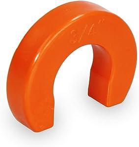 MIDLINE VALVE VQUS056 Removal Tool for Push Fittings 3/4'' Lightweight & Durable Plastic Construction, 3/4'', Orange