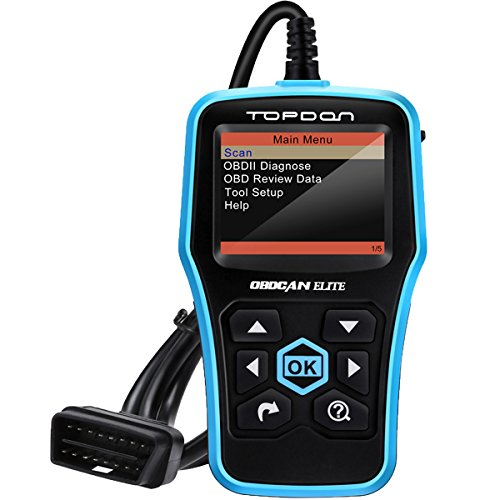 TT TOPDON ABS SRS Scan Tool, Elite OBD2 Scanner with OBD2 Full Functions,  DTC Look-up, Free Online Update