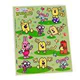 Wow! Wow! Wubbzy! Stickers (4 count)