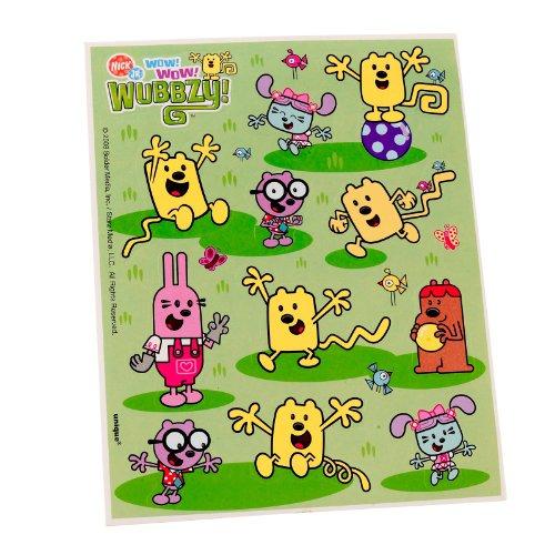 Wow! Wow! Wubbzy! Stickers (4 count) -