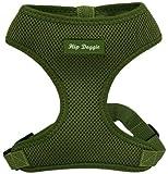 Hip Doggie Ultra Comfort Olive Green Mesh Harness Vest, XX-Large, My Pet Supplies