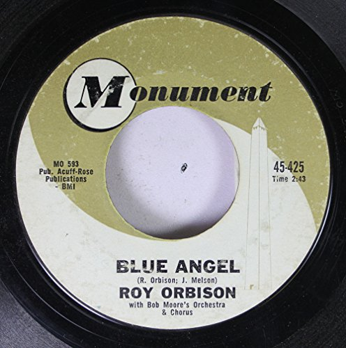 roy orbison 45 RPM blue angel / today