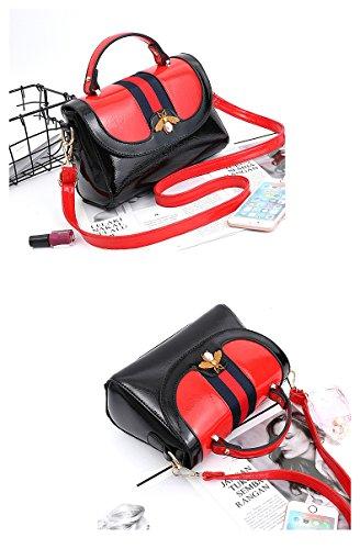 Fashion haute Red à sac les Crossbody bandoulière Tote Sacs pour Satchel de à qualité Designer femmes main wzOqatF