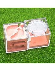Ant Farm Worm Lore Kasteel Gips DIY transparante Core Cup Nest Lmitation van de oorspronkelijke ecologische verjaardagsgeschenkGift (Color : A)