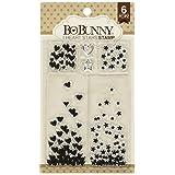 Bo Bunny 260415 Stamps, I Heart Stars