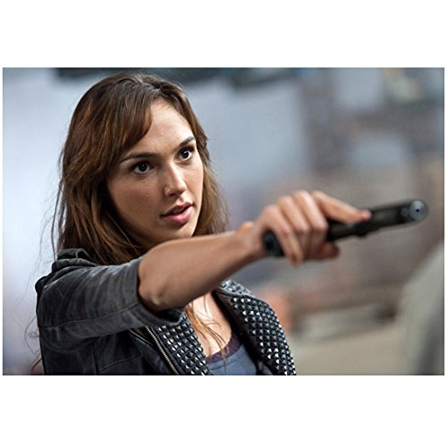 Fast Five Gal Gadot as Gisele Aiming Side Style 8 x 10 Inch - Style Ludacris