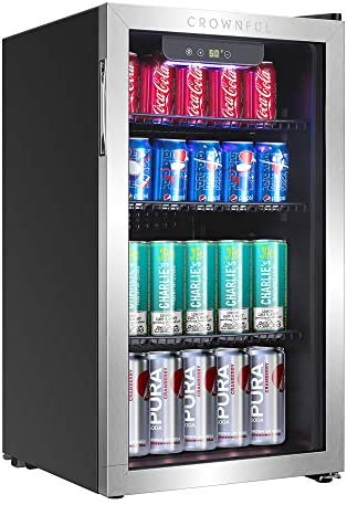 Crownful Beverage Refrigerator and Coole