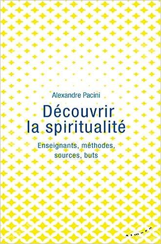 Amazon Fr Decouvrir La Spiritualite Enseignants