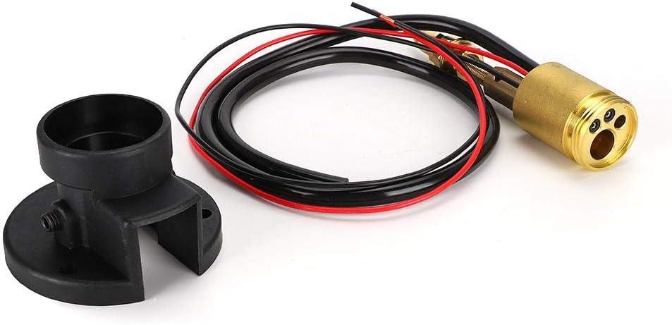 Accesorios de antorcha de soldadura MIG, kit de conversión de adaptador central de conector de antorcha de soldadura MIG MAG CO2, incluyendo base de brida Base de pistola de soldadura(negro)