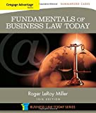 img - for Cengage Advantage Books: Fundamentals of Business Law Today: Summarized Cases (Miller Business Law Today Family) book / textbook / text book