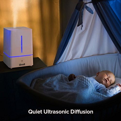 Levoit Humidifier 4l Cool Mist Ultrasonic Humidifiers For Bedroom With Night Light And Whisper