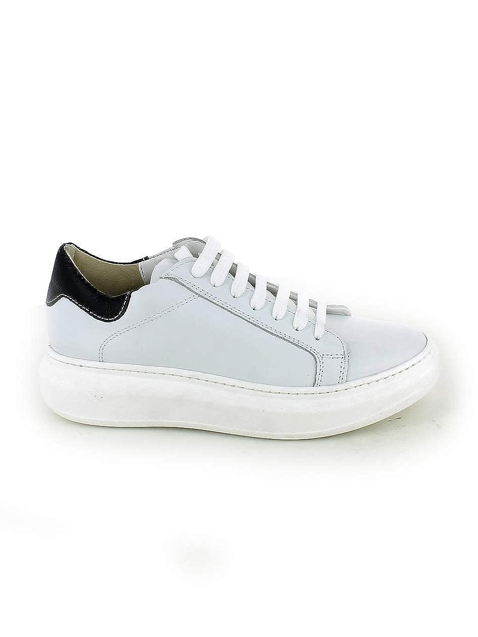 OVYE  Damen Turnschuhe Weiß Bianco