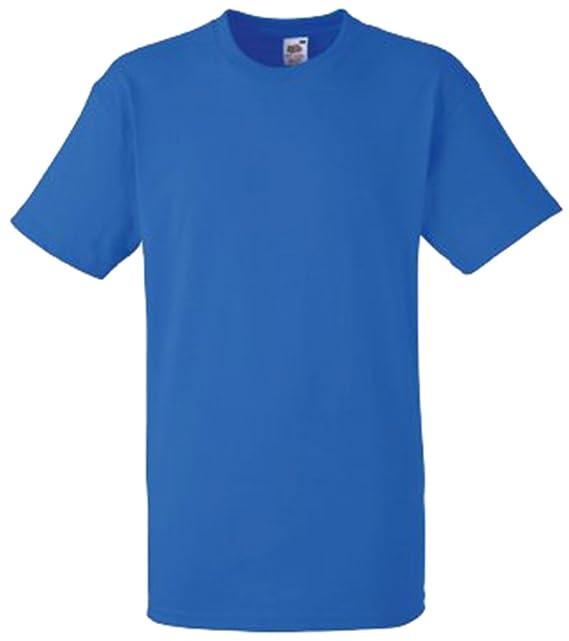 c647d51bc Fruit Of The Loom - Camiseta Básica gruesa de manga corta con bolsillo - 100%  Algodón  Amazon.es  Ropa y accesorios