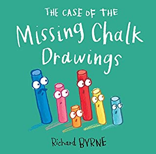 Book Cover: The Case of the Missing Chalk Drawings