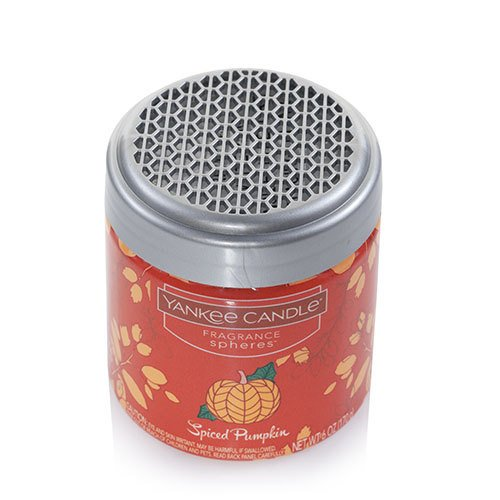 - Yankee Candle Spiced Pumpkin Home Fragrance Spheres Odor Neutralizing Beads